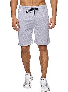 6c76a19003f6 Reslad Kurze-Hose Herren Jogginghose Kurz Sweat-Shorts Basic Sport-Hose  Freizeit Sweat