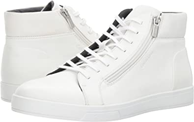 09bb76bbf90c3 Calvin Klein Men's Balthazar White 10 M US