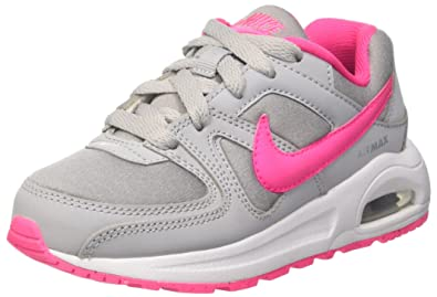 new concept d2d79 e46ff Nike Air Max Command Flex (PS), Running Shoes for girls, Grey ( Girls Nike  Air Max Command - Preschool ...