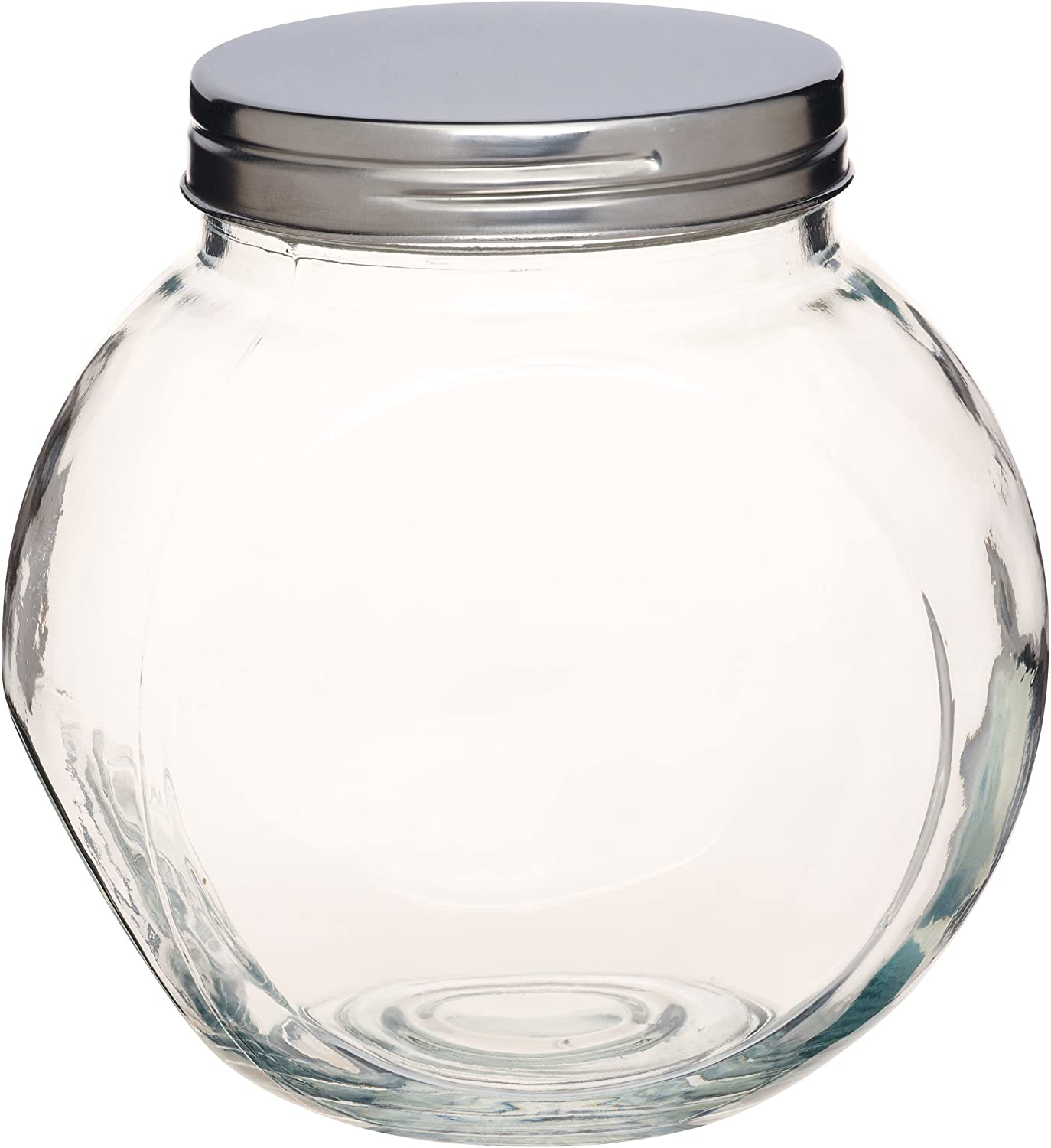 Kitchencraft Home Made Glass Storage Jar With Lid Tilt Or Tall 14 L