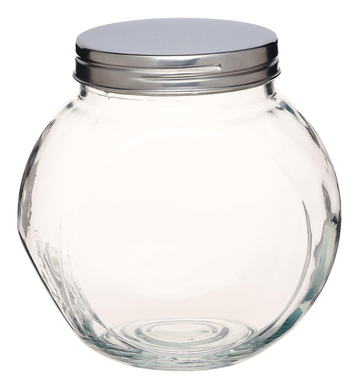 KitchenCraft Home Made Tilt or Tall Large Glass Storage Jar KCHMSJARLRG