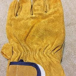 Amazon 耐熱 手袋 キャンプグローブ レザーグローブ q 耐熱グローブ アウトドア用 作業革手袋 Mls301 リガー手袋 産業 研究開発用品 通販