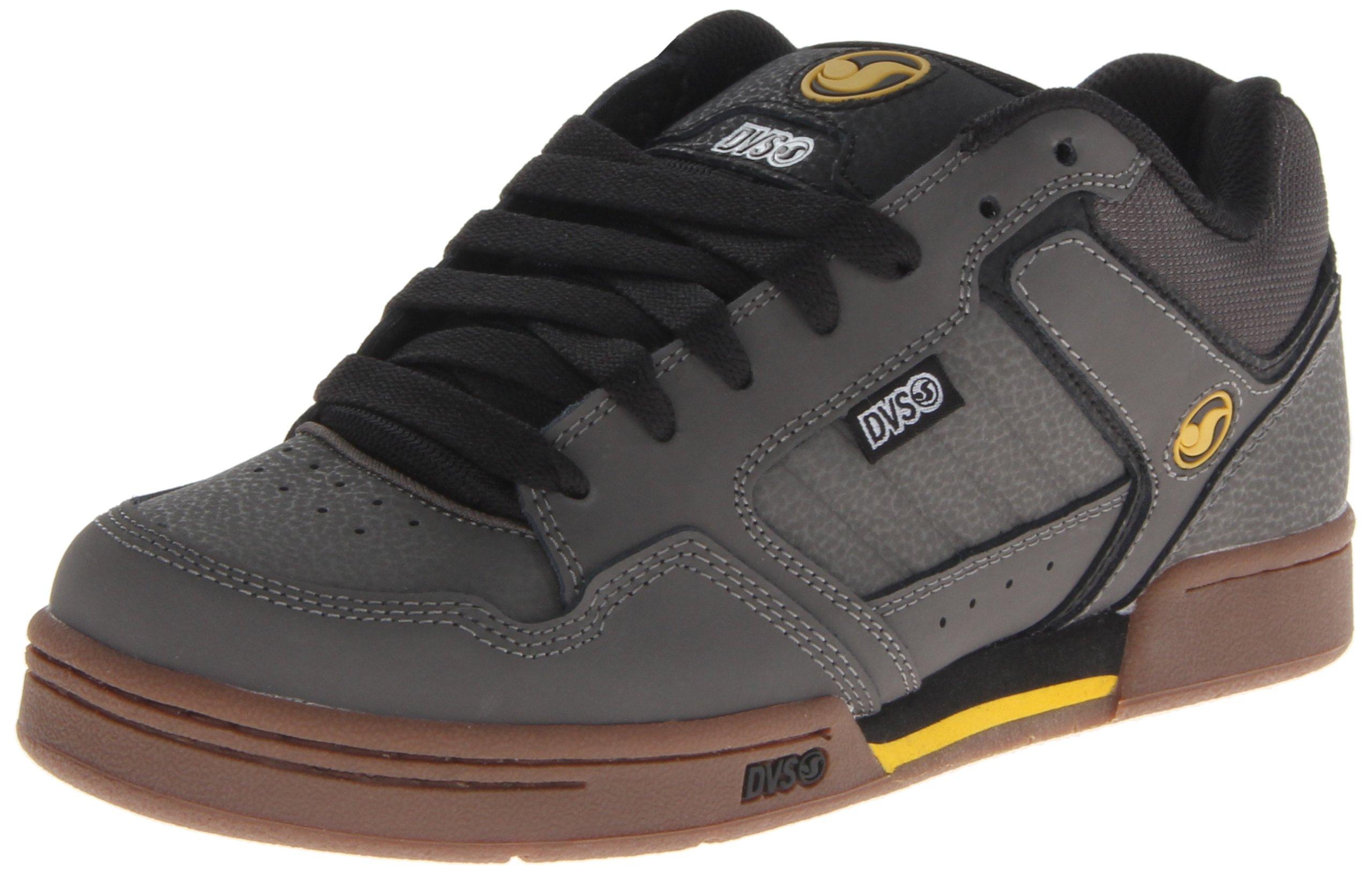 DVS Transom Skate Shoe,Grey/Gum Nubuck,9 M US by DVS