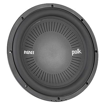 "Polk Audio MM1042DVC, MM 10"" Dual 4 Ohm Voice Coil Car, Marine, ATV Subwoofer: Industrial & Scientific"