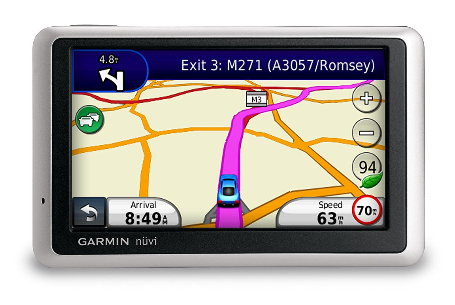 Garmin Nuvi 1340 4 3 Sat Nav With Uk And Western Europe Maps