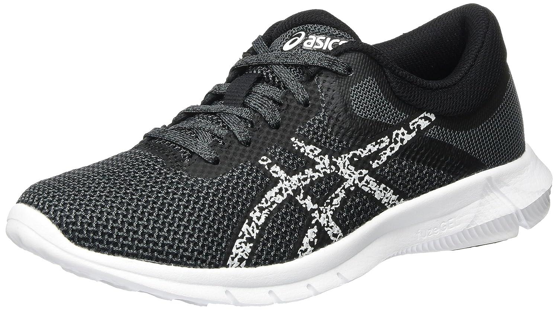 Asics Nitrofuze 2, Zapatillas de Entrenamiento para Mujer 39 EU|Negro (Black / Glacier Grey / Carbon)