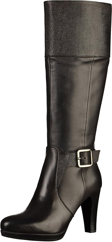 fe2178ed6d2e Tamaris 1-25563-39 Damen Stiefel Schwarz, EU 36  Amazon.de  Schuhe    Handtaschen
