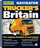 Philip's 2018 Navigator Trucker's Britain: Spiral (Philips Road Atlas)
