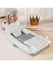 Ustide Baby Bassinet Breathable Bedding 100% Cotton Portable Super Soft Bedding Set