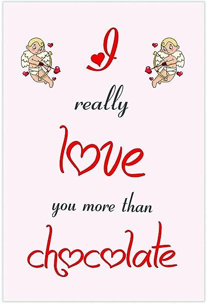 I Love Chocolate temáticas de tarjeta - día de San Valentín ...