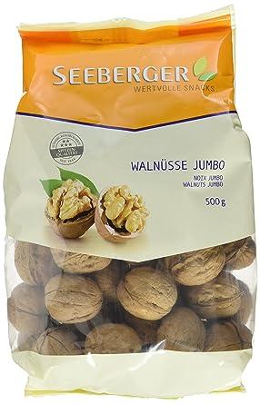 Gemeinsame Seeberger Walnüsse Jumbo, 2er Pack (2 x 500 g Packung): Amazon.de #KC_23
