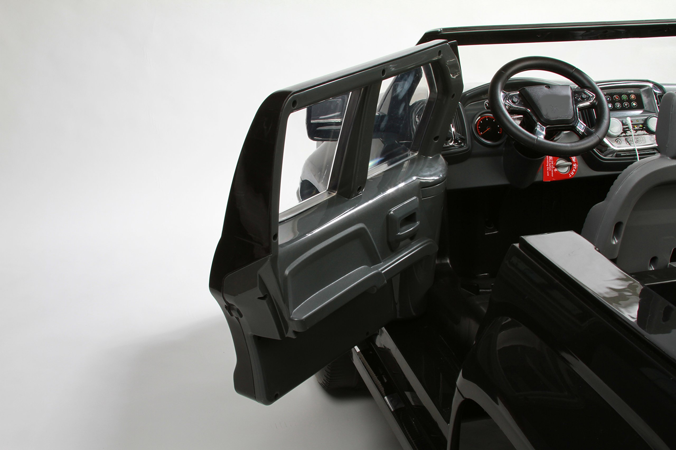 Rollplay GMC Sierra Denali 12-Volt Battery-Powered Ride-On, Black by Rollplay (Image #8)