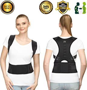 Win A Free SOMAZ Adjustable Posture Corrector for Men and Women