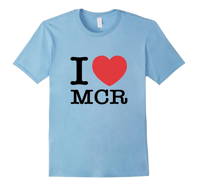 I Love MCR Heart Manchester Shirt-FL