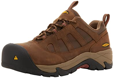 92ded7dc0d Keen Utility Men's Lexington AL Composite Work Shoe, Dark Earth, 15 ...