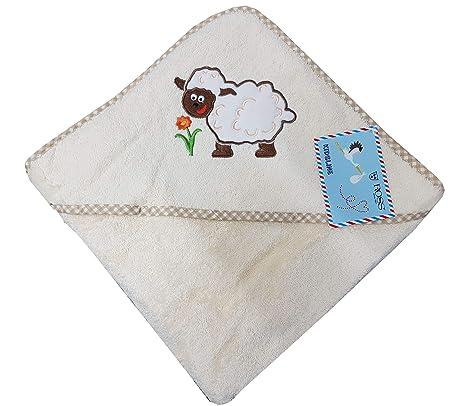 Ross Niños bebé, de toallas (Toalla con capucha en distintos motivos oveja Toalla con
