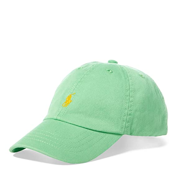 Ralph Lauren - Gorro para niño 6-14 años - Verde Lime: Amazon.es ...