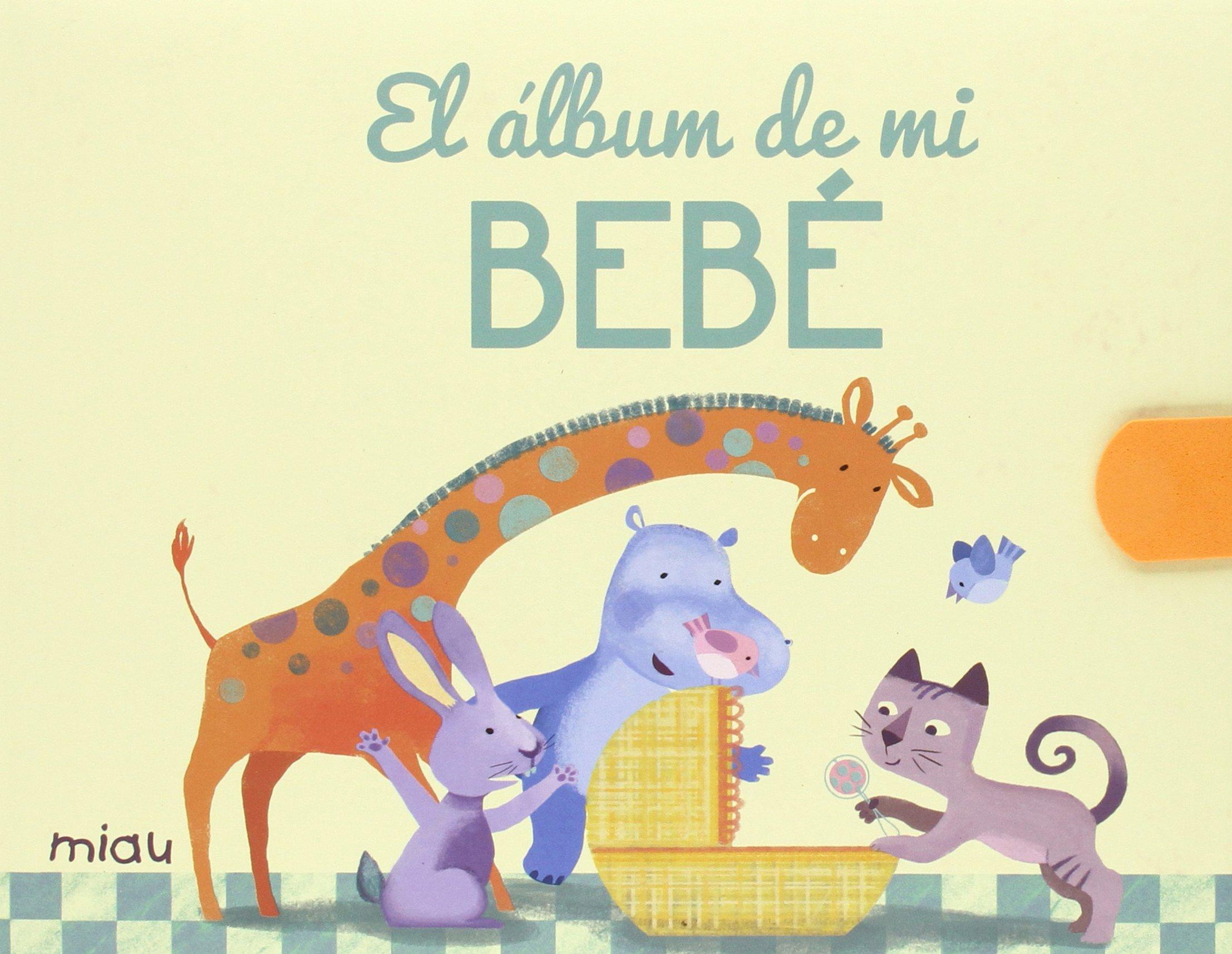 El álbum de mi bebé (Miau): Amazon.es: Ediciones Jaguar: Libros