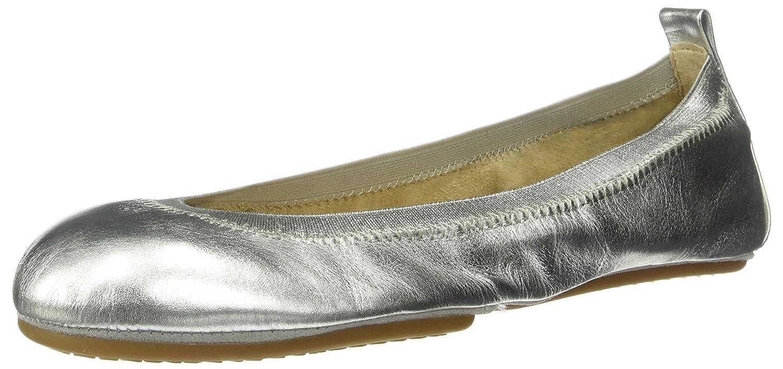Yosi W Samra Damen Samara Metallic Flat 2.0 W Yosi Geschlossene Ballerinas Silber (Silver) f40a5b