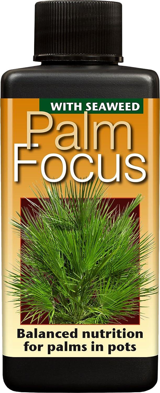 Palm Focus Unique Liquid Concentrated Fertiliser 100ml Growth Technology Ltd GTPAF100