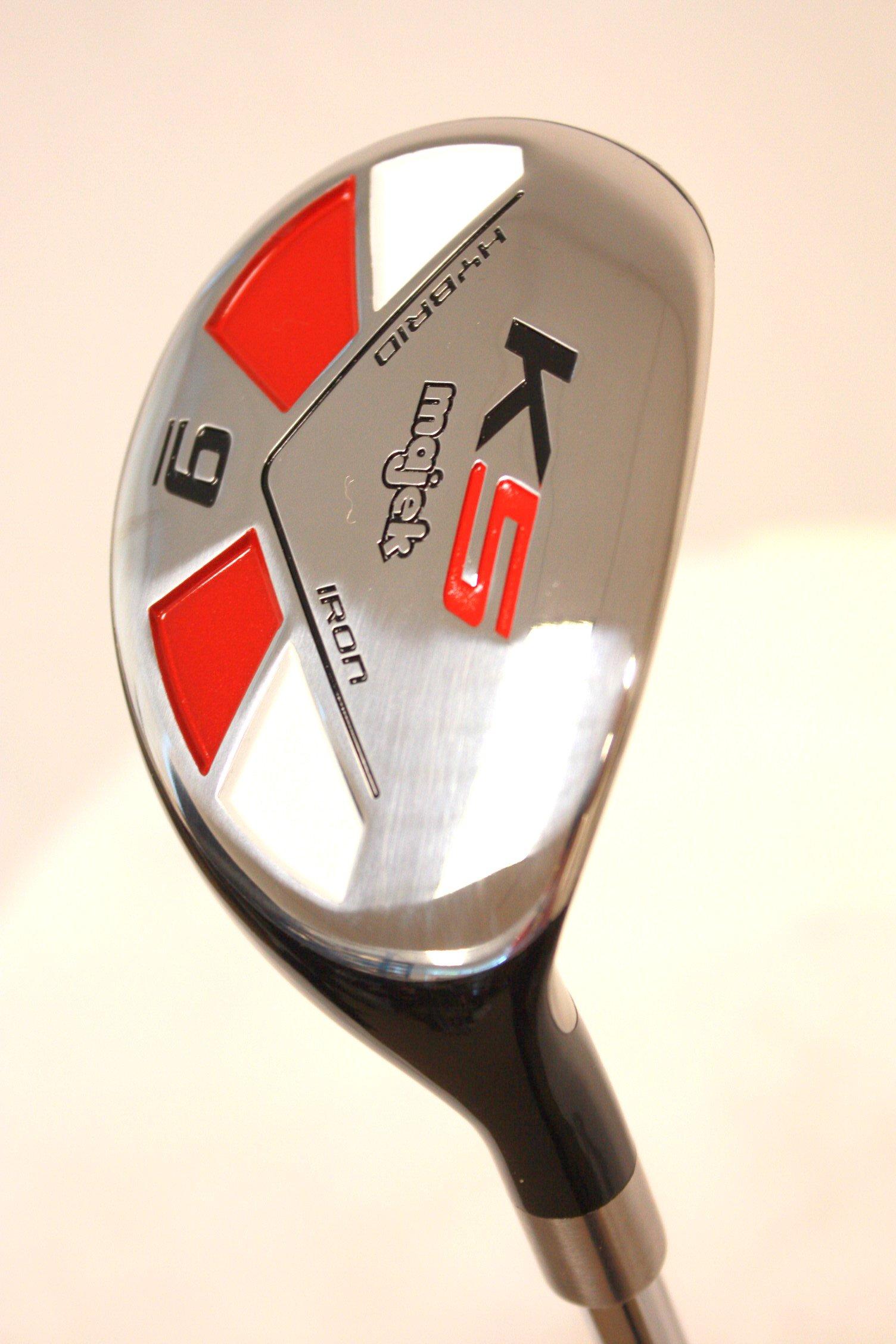 Majek Golf All Hybrid #9 Stiff Flex Right Handed New Rescue Utility S Flex Club