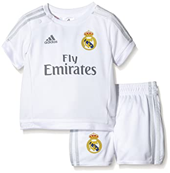df86e9c74 adidas Performance Real Madrid 15 16 Home Replica Baby Boys Football ...