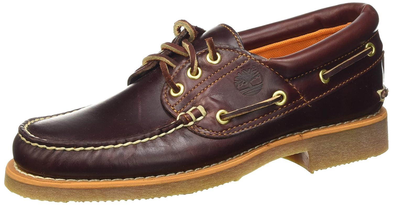 TALLA 46 EU. Timberland Stanwood 3-Eye, Zapatos del Barco para Hombre