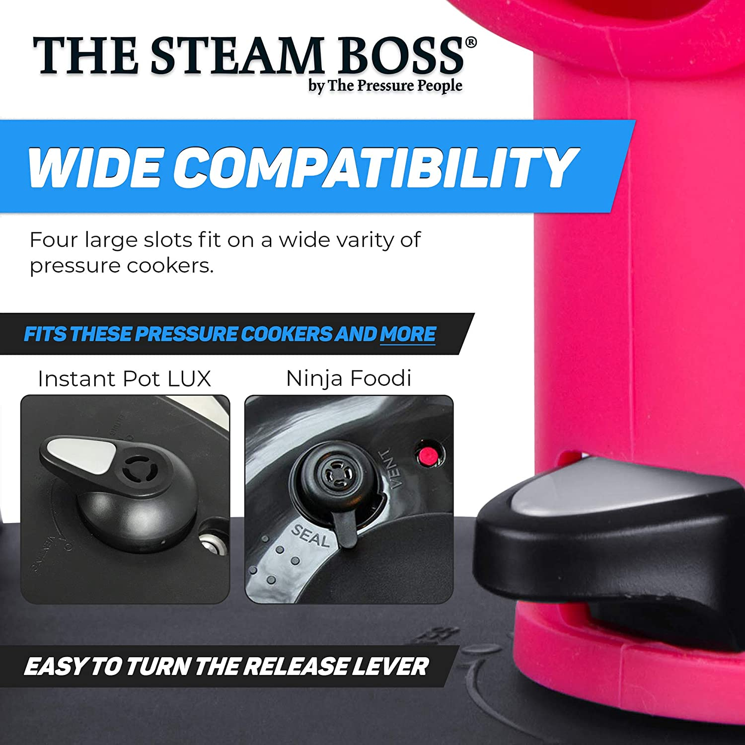 Accesorios de Instapot de The Pressure People - The Steam Boss ...