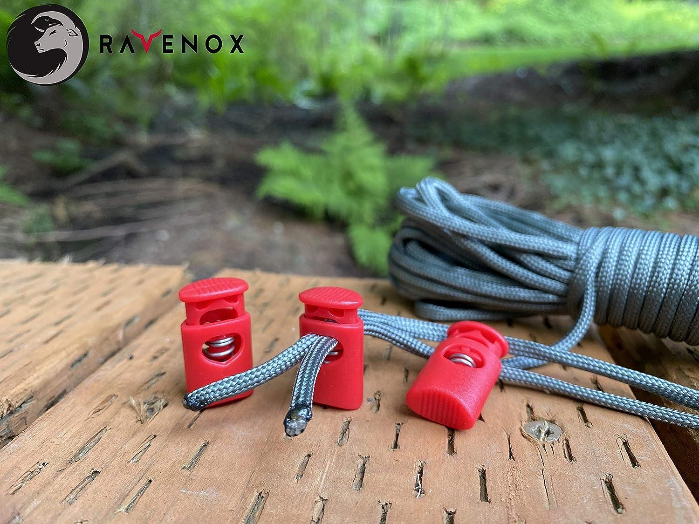 Amazon Com Ravenox Cord Locks For Drawstrings Crown Cord Lock