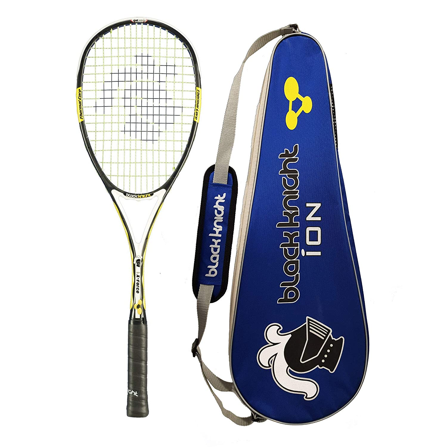 Black Knight ION X-Force Black Squash Racket New 2011