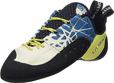 La Sportiva Kataki, Zapatos de Escalada para Hombre, Multicolor (Ocean/Sulphur 000), 39 EU