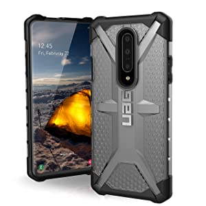 URBAN ARMOR GEAR UAG OnePlus 7 Pro Plasma Feather-Light Rugged [Ice] Military Drop Tested Case