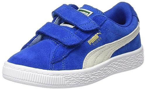 Mixte Sneakers 2 Straps Basses Ps Suede Enfant Puma qACfxYwRI1