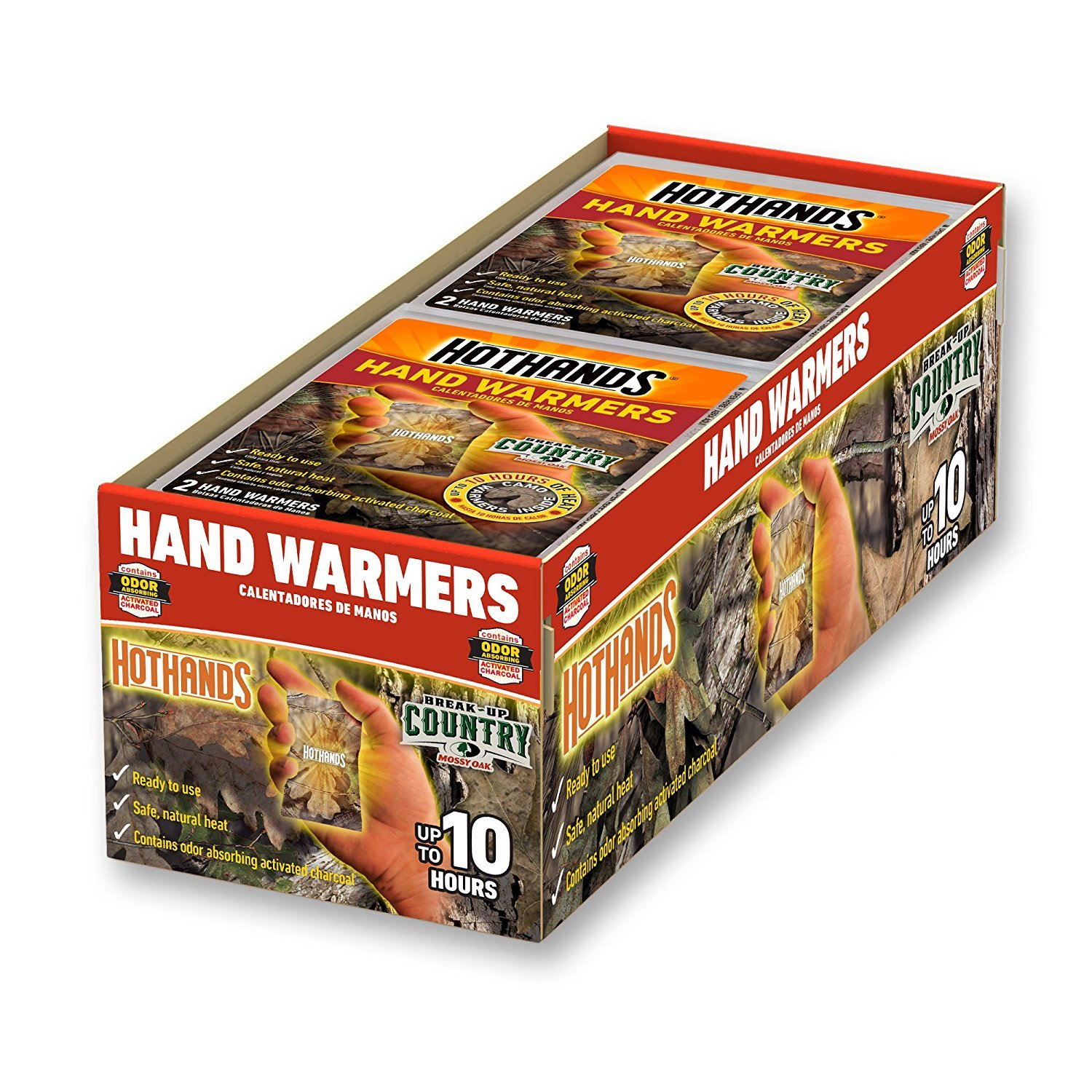HotHands Mossy Oak Camo Hand warmers - 15 Pair by HotHands