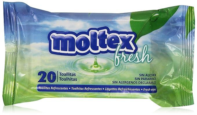 Moltex - Fresh - Toallitas refrescantes - 20 unidades