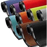 Schmutzfangmatte ColorLine | viele Größen und Farben zur Auswahl | Fußmatte für Innenbereich | Mono Color Lila 60x90 cm