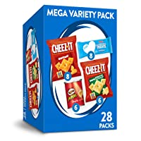 Deals on Mega Variety Pack Snacks Variety Pack, 28.1oz Box 28 Count