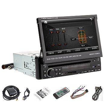 Din para Ouku 17,78 cm pantalla táctil HD Radio de coche reproductor de DVD
