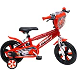 """Disney Cars Chrome Vélo Enfant Rouge 12"""""""