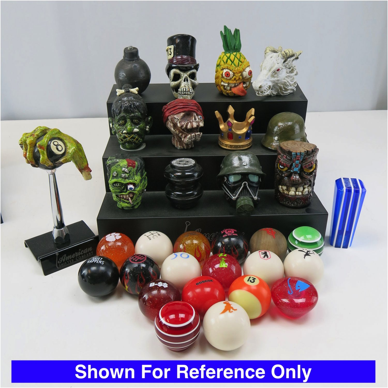 American Shifter 116588 Red Stripe Shift Knob with M16 x 1.5 Insert Green Felix The Cat Classic