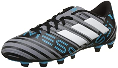 3019f1b4a53b Adidas Men s Nemeziz Messi 17.4 FxG Grey Football Boots-9 UK India ...
