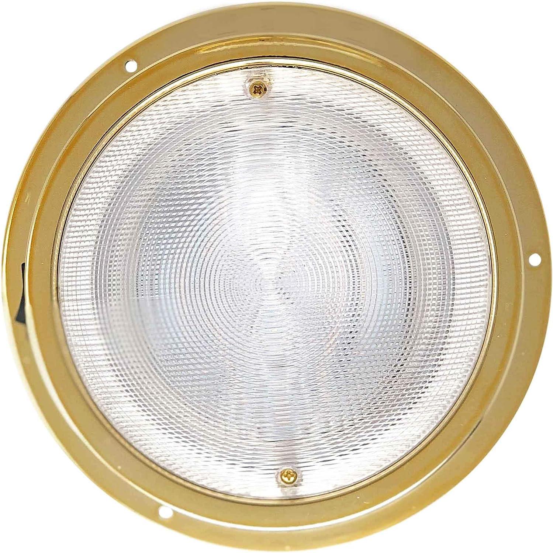 Pair Five Oceans Interior Bezel LED Dome Light FO-2628-M2 5 5 Pair FO-2628-M2