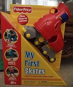 Fisher-Price - 73069 Mi primeros patines (Mattel)