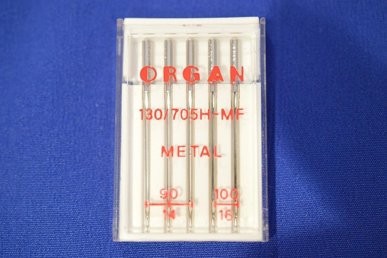 Organ Metal Large Eye Machine Needles mix pack 90 & 100