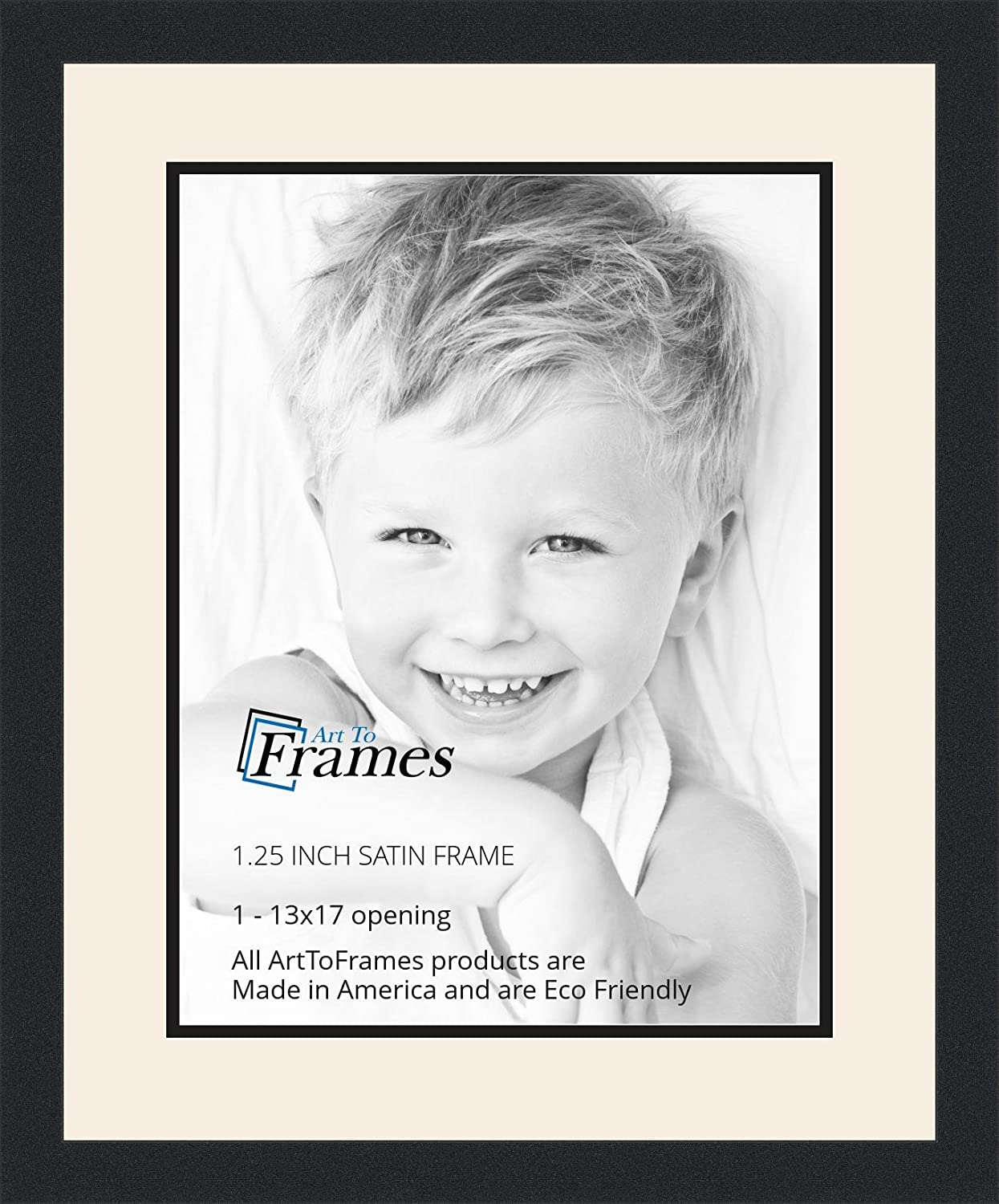 Amazon.com - ArtToFrames Collage Photo Frame Double Mat with 1-13x17 ...