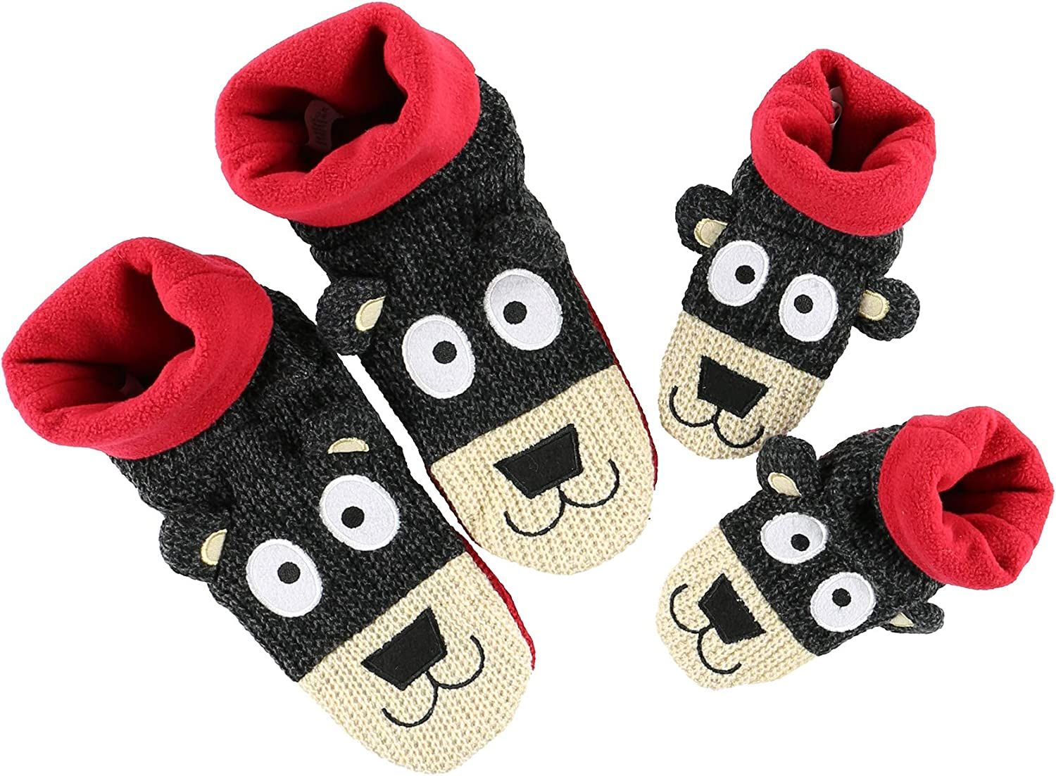 Lazy One Unisex Bear Wald Slippers