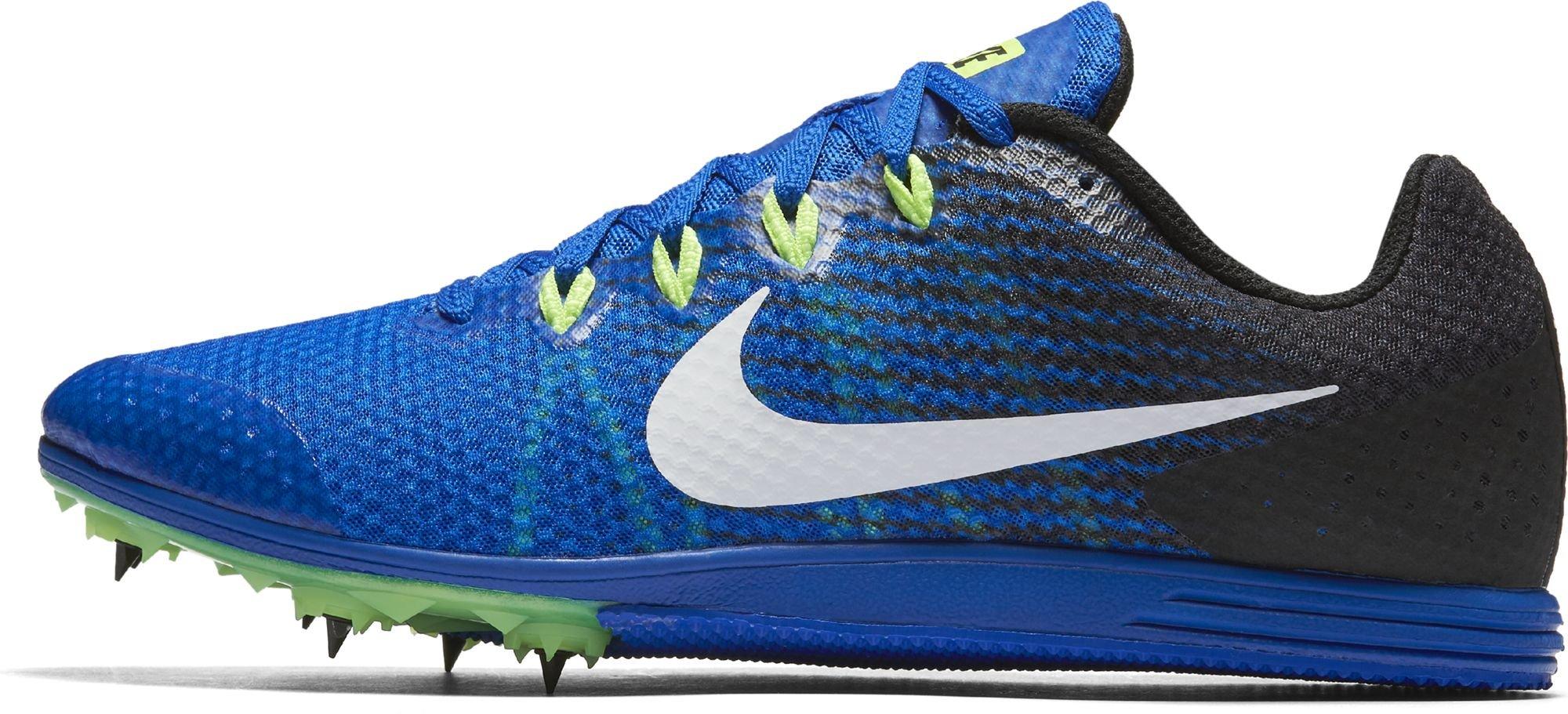 Nike Men s Zoom Rival D 9 Track Spike Hyper Cobalt White Black Ghost a535053d3