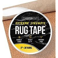 Extreme Hold Tapijt Tapijt Tape - Houd Runners, Tapijten, Tapijten en Matten op zijn plaats - Extreme sterkte Heavy Duty…