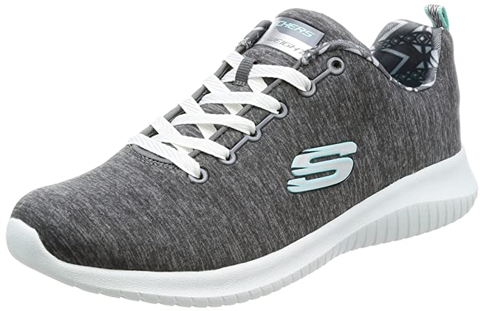 Skechers Damen Ultra Flex First Choice Sneaker blau