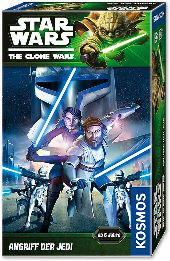 KOSMOS - Juego de Dados Clone Wars Star Wars, 2 a 4 Jugadores (versión en alemán): Amazon.es: Juguetes y juegos
